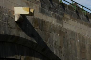 Kamenořez handrail if possible always be respected. | Charles Bridge museum