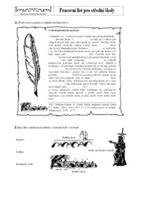 Worksheet for intermediate students (Age 15 - 21) | Charles Bridge museum