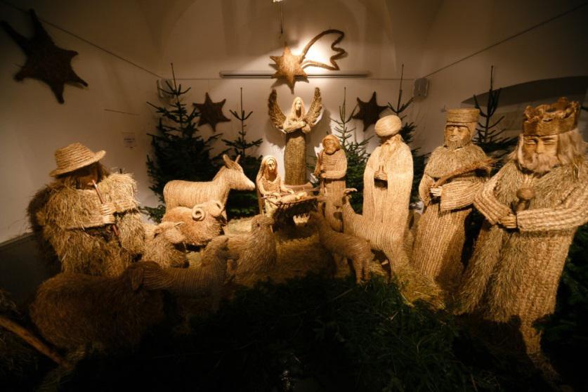 Vánoční betlém | Muzeum Karlova mostu