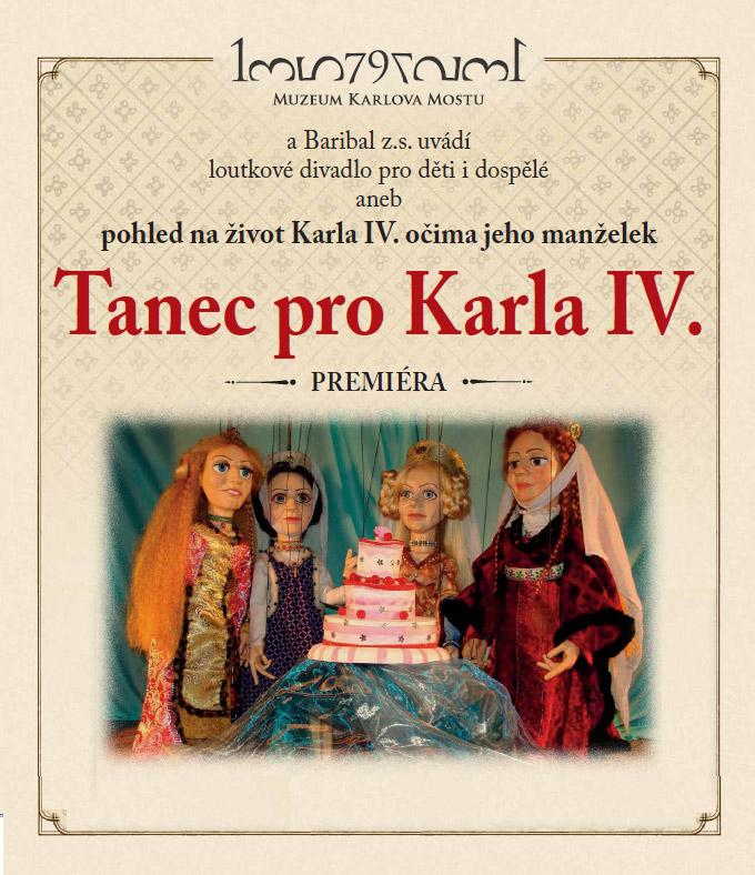 Tanec pro Karla IV. plakát | Muzeum Karlova mostu