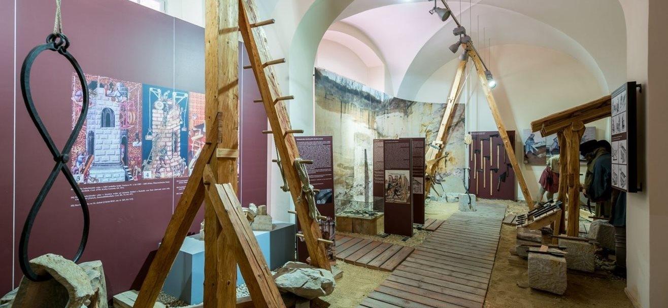 Expozice středověké techniky | Muzeum Karlova mostu